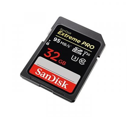 کارت حافظه SD 32GB سن دیسک مدل Extreme PRO 95MB/s ارجینال