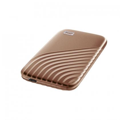 حافظه SSD اکسترنال وسترن دیجیتال مدل My Passport ظرفیت 500 گیگابایت