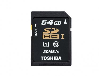 Toshiba SD 64GB UHS1 Class 10