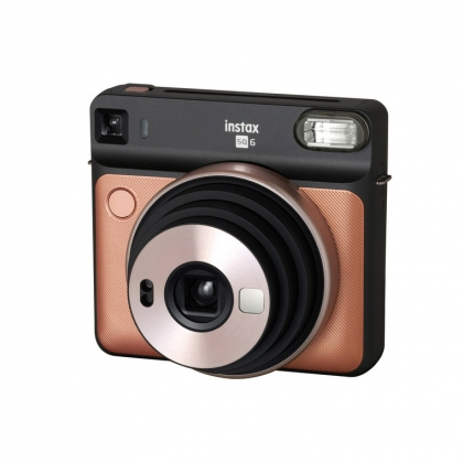 دوربین چاپ سریع دیجیتال فوجی Instax SQ6 (طلایی)