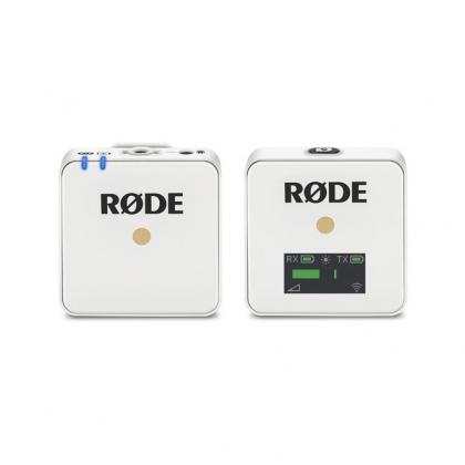 میکروفن یقهای بیسیم Rode Wireless GO (سفید)