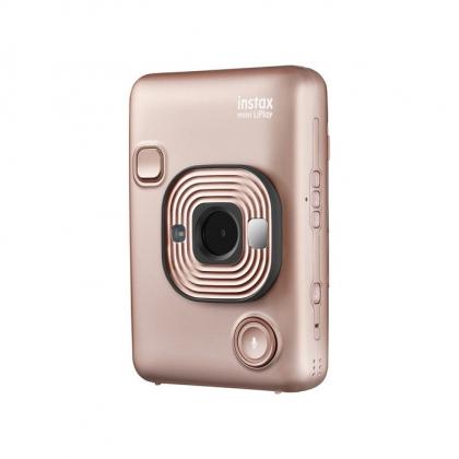 دوربین چاپ سریع هیبرید FUJIFILM INSTAX Mini LiPlay (طلایی)