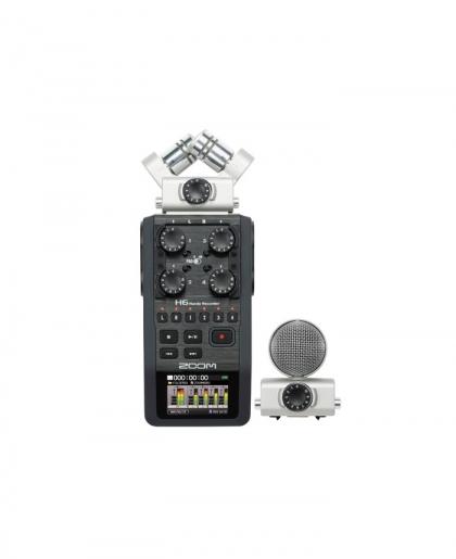 رکوردر صدا Zoom H6 (دست دوم)