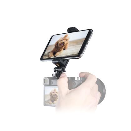 هولدر موبایل روی دوربین