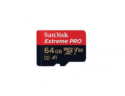کارت حافظه Micro SD 64GB سن دیسک مدل Extreme PRO 100MB/s