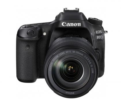 دوربین کانن EOS 80D + 18-135mm IS USM (دست دوم)