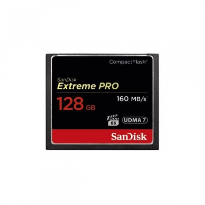 کارت حافظه CF 128GB سن دیسک مدل Extreme 160MB/s