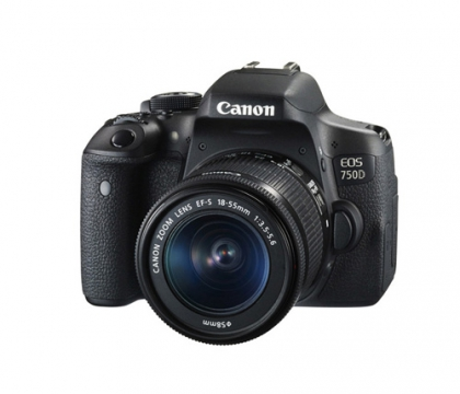 دوربین کانن EOS 750D + 18-55mm DC III (دست دوم)